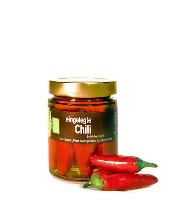 BIO Produkt Chilli scharf