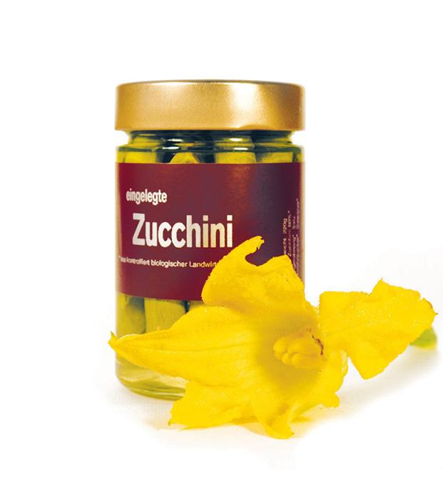 BIO Produkt Zucchini